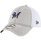 New Era Men's Milwaukee Brewers 39Thirty Shade Neo Stretch Fit Hat