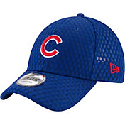 New Era Men's Chicago Cubs 9Forty Honeycomb Mesh Adjustable Hat