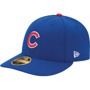 New Era Men's Chicago Cubs 59Fifty Game Royal Low Crown Authentic Hat