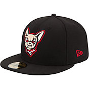 New Era Men's El Paso Chihuahuas 59Fifty Black Authentic Hat