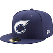 New Era Men's Columbus Clippers 59Fifty Navy Authentic Hat