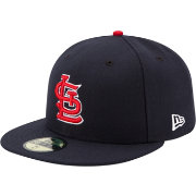 New Era Men's St. Louis Cardinals 59Fifty Alternate Navy Authentic Hat