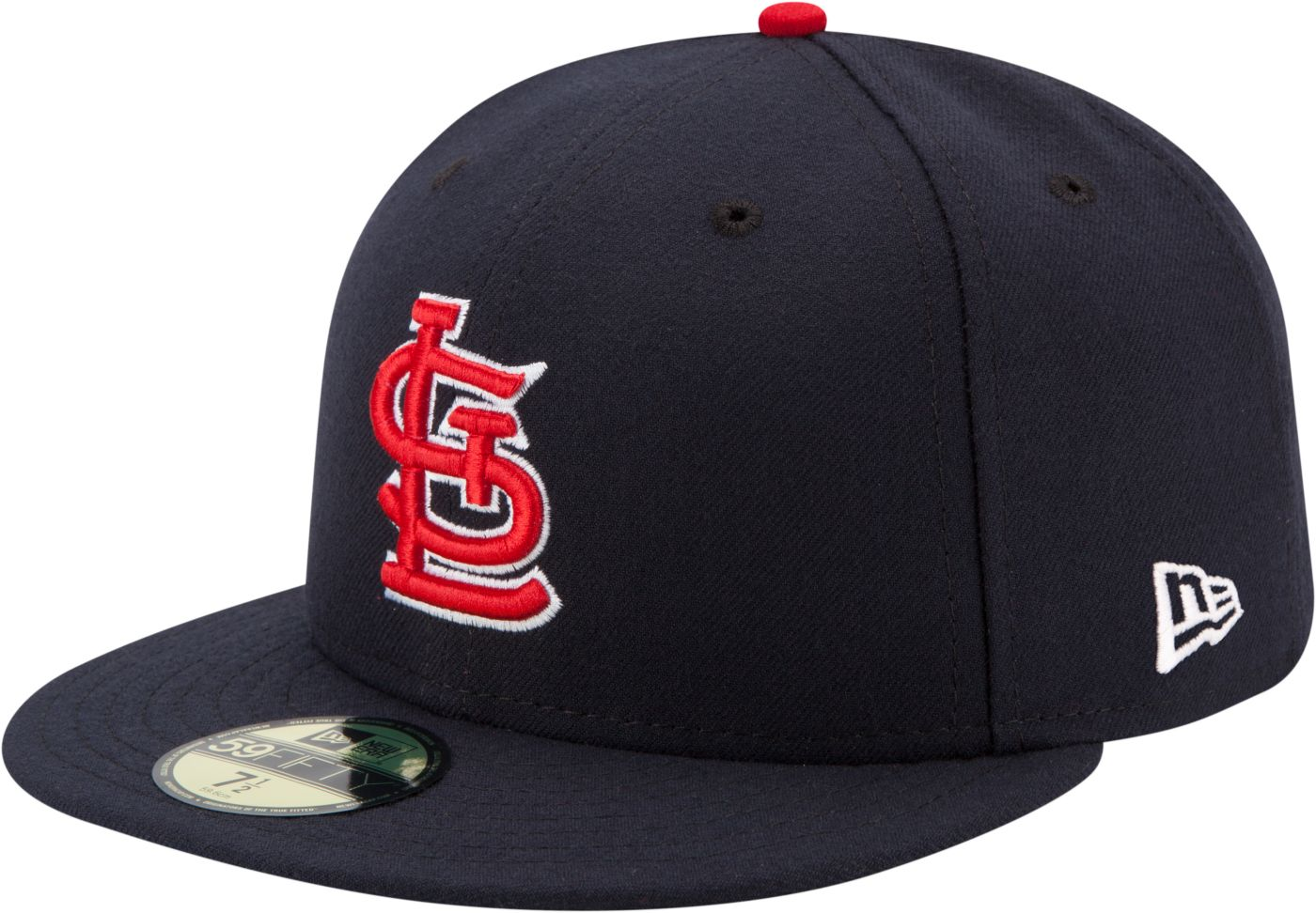 New Era Men's St. Louis Cardinals 59Fifty Alternate Navy Authentic Hat