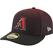 New Era Men's Arizona Diamondbacks 59Fifty Alternate Black Low Crown Authentic Hat
