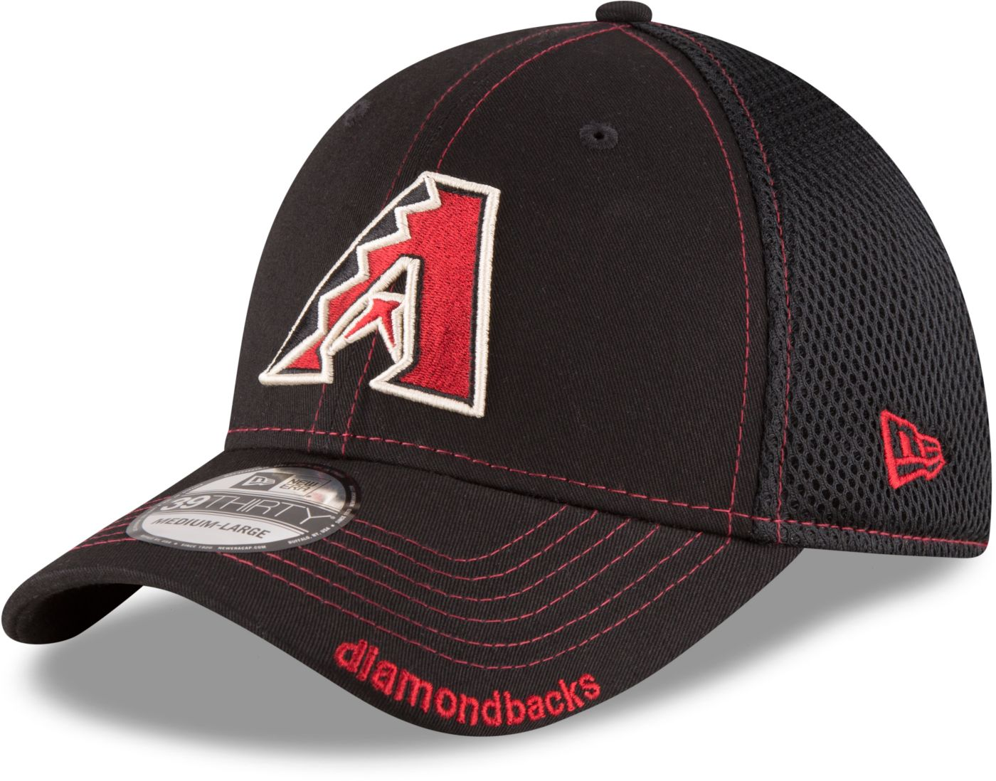 New Era Men's Arizona Diamondbacks 39Thirty Stretch Fit Hat