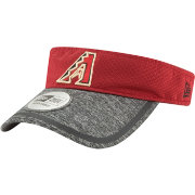 New Era Men's Arizona Diamondbacks Tinted Trim Adjustable Visor