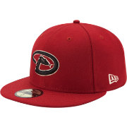 New Era Men's Arizona Diamondbacks 59Fifty Alternate Red Authentic Hat