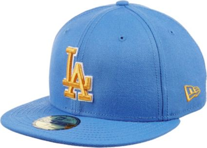 New Era Men s Los Angeles Dodgers 59Fifty City Pride True Blue Gold ... 2666183b772