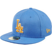 New Era Men's Los Angeles Dodgers 59Fifty City Pride True Blue/Gold Fitted Hat