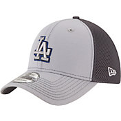 New Era Men's Los Angeles Dodgers 39Thirty Grayed Out Grey Stretch Fit Hat