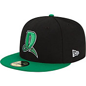 New Era Men's Dayton Dragons 59Fifty Black/Green Authentic Hat