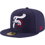 New Era Men's Reading Fightin Phils 59Fifty Navy Authentic Hat