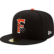 New Era Men's Fresno Grizzlies 59Fifty Black Authentic Hat