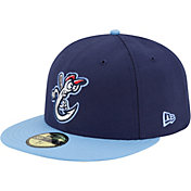 New Era Men's Corpus Christi Hooks 59Fifty Navy/Light Blue Authentic Hat