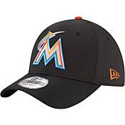 New Era Men's Miami Marlins 39Thirty PROLIGHT Batting Practice Stretch Fit Hat