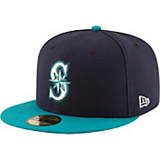 New Era Men's Seattle Mariners 59Fifty Alternate Navy Authentic Hat