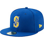 New Era Youth Seattle Mariners 59Fifty Alternate Navy Authentic Hat