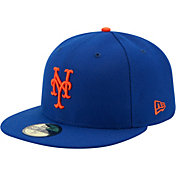 319f21a9a25 New Era Men s New York Mets 59Fifty Game Royal Authentic Hat