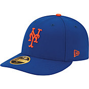 New Era Men's New York Mets 59Fifty Game Royal Low Crown Authentic Hat