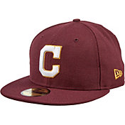 New Era Men's Cleveland Indians 59Fifty City Pride Burgundy Fitted Hat