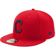 New Era Men's Cleveland Indians 59Fifty Alternate Red Authentic Hat