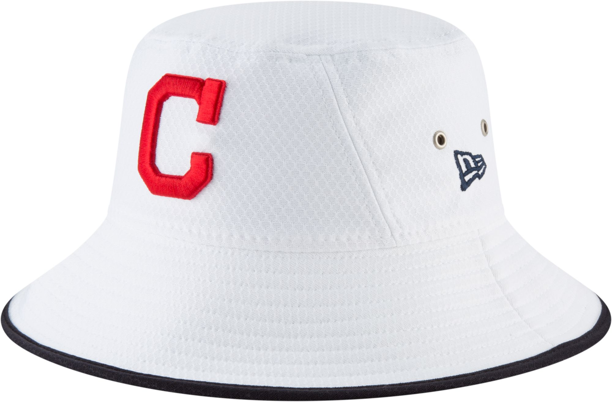 ed64929a76e ... purchase new era mens cleveland indians hex team bucket hat fd325 a320b