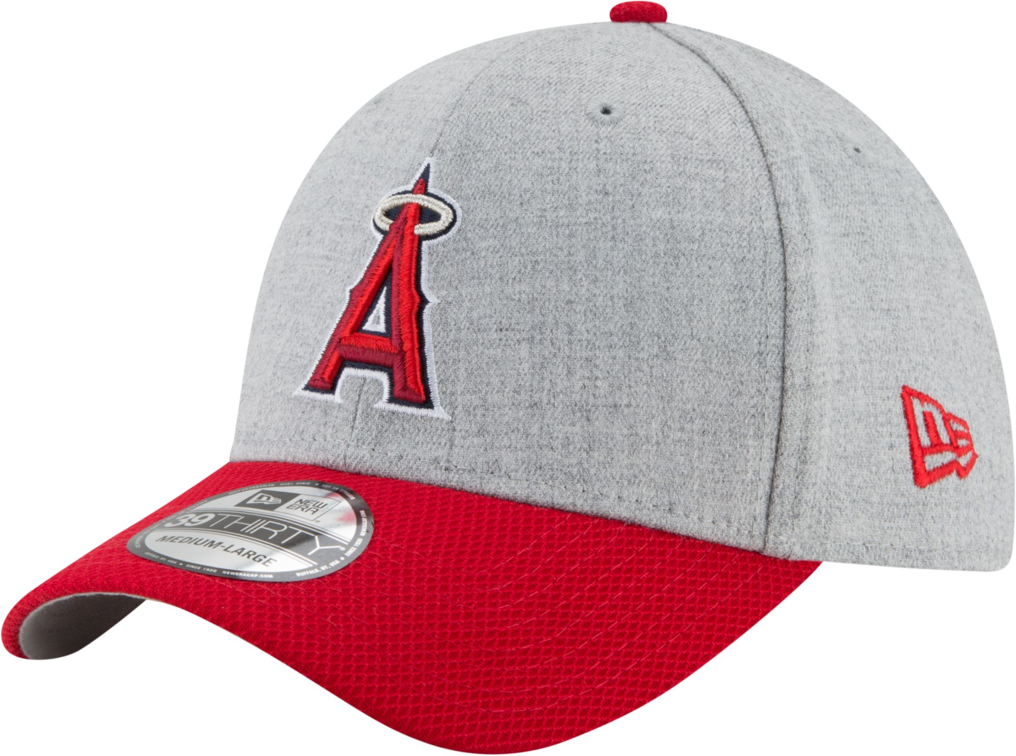 best service 8db75 8ee98 ... dirt cheap 52309 117d3 New Era Mens Los Angeles Angels 39Thirty Change  Up Redux Stretch Fit ...