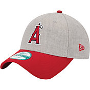New Era Men's Los Angeles Angels 9Forty Grey Adjustable Hat