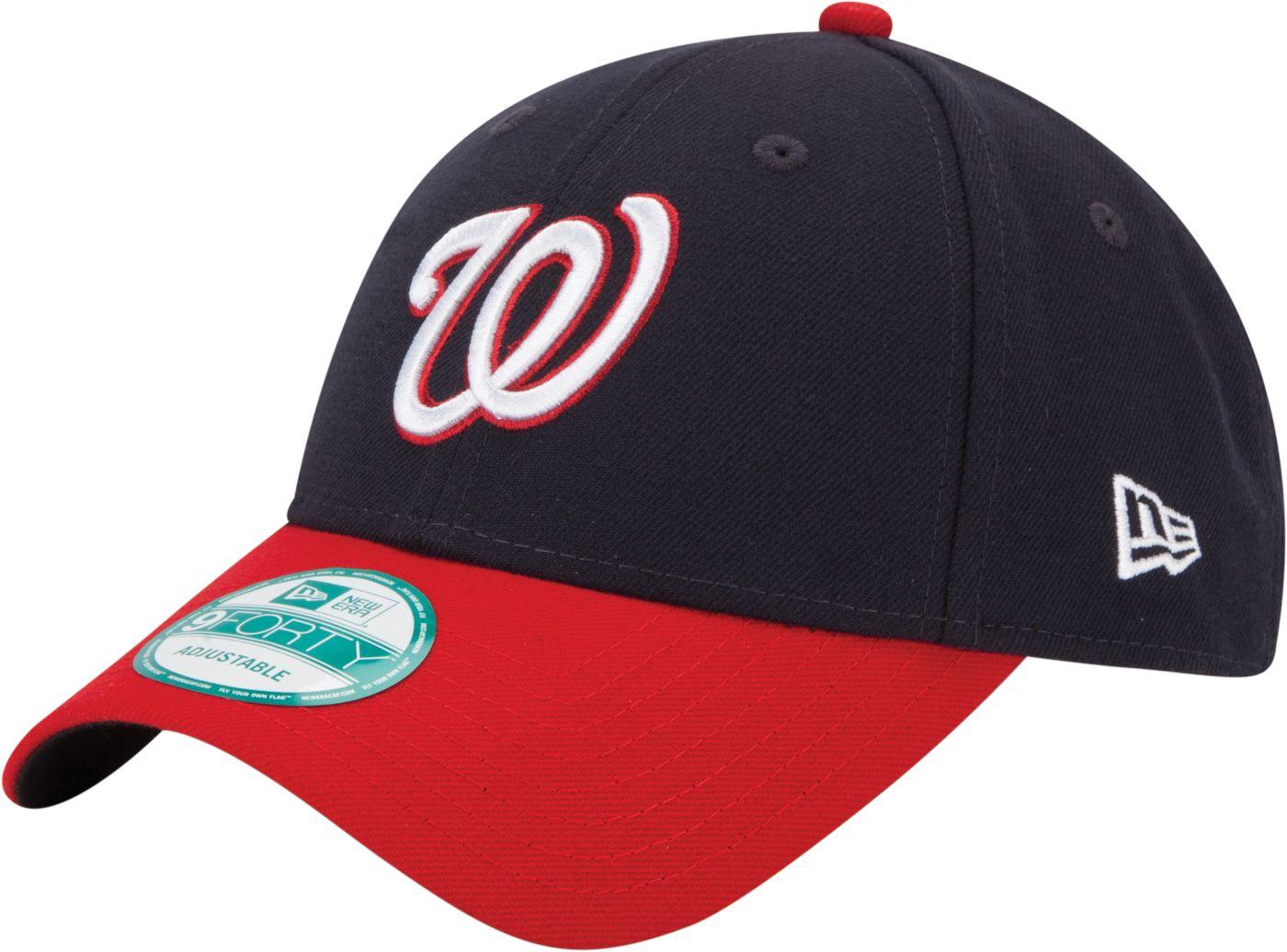 New Era Men's Washington Nationals 9Forty Navy Adjustable Hat