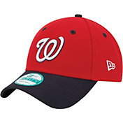 New Era Men's Washington Nationals 9Forty Red Adjustable Hat