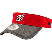 New Era Men's Washington Nationals Tinted Trim Adjustable Visor