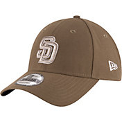 New Era Men's San Diego Padres 9Forty Brown Adjustable Hat