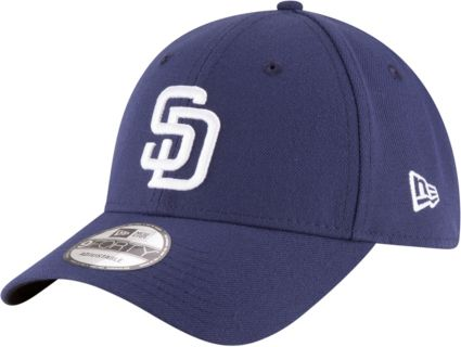 New Era Men s San Diego Padres 9Forty Navy Adjustable Hat  85e15d2c893