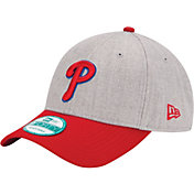 New Era Men's Philadelphia Phillies 9Forty Grey Adjustable Hat