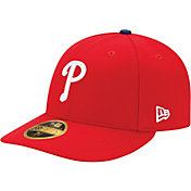 New Era Men's Philadelphia Phillies 59Fifty Game Red Low Crown Authentic Hat