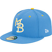New Era Men's Myrtle Beach Pelicans 59Fifty Light Blue Authentic Hat