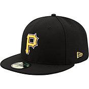 New Era Men's Pittsburgh Pirates 59Fifty Alternate Black Authentic Hat