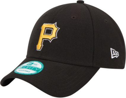New Era Men s Pittsburgh Pirates 9Forty Black Adjustable Hat. noImageFound d405e73335e