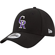 New Era Men's Colorado Rockies 9Forty Black Adjustable Hat
