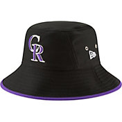 New Era Men's Colorado Rockies Hex Team Bucket Hat
