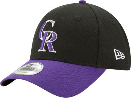 sale retailer ea637 592dd New Era Men  39 s Colorado Rockies 9Forty Black Adjustable Hat