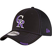 9843555bacf Product Image · New Era Men s Colorado Rockies 39Thirty Black Neo Stretch  Fit Hat