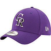 New Era Men's Colorado Rockies 39Thirty Purple Stretch Fit Hat