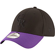 New Era Men's Colorado Rockies 39Thirty Tone Tech Stretch Fit Hat