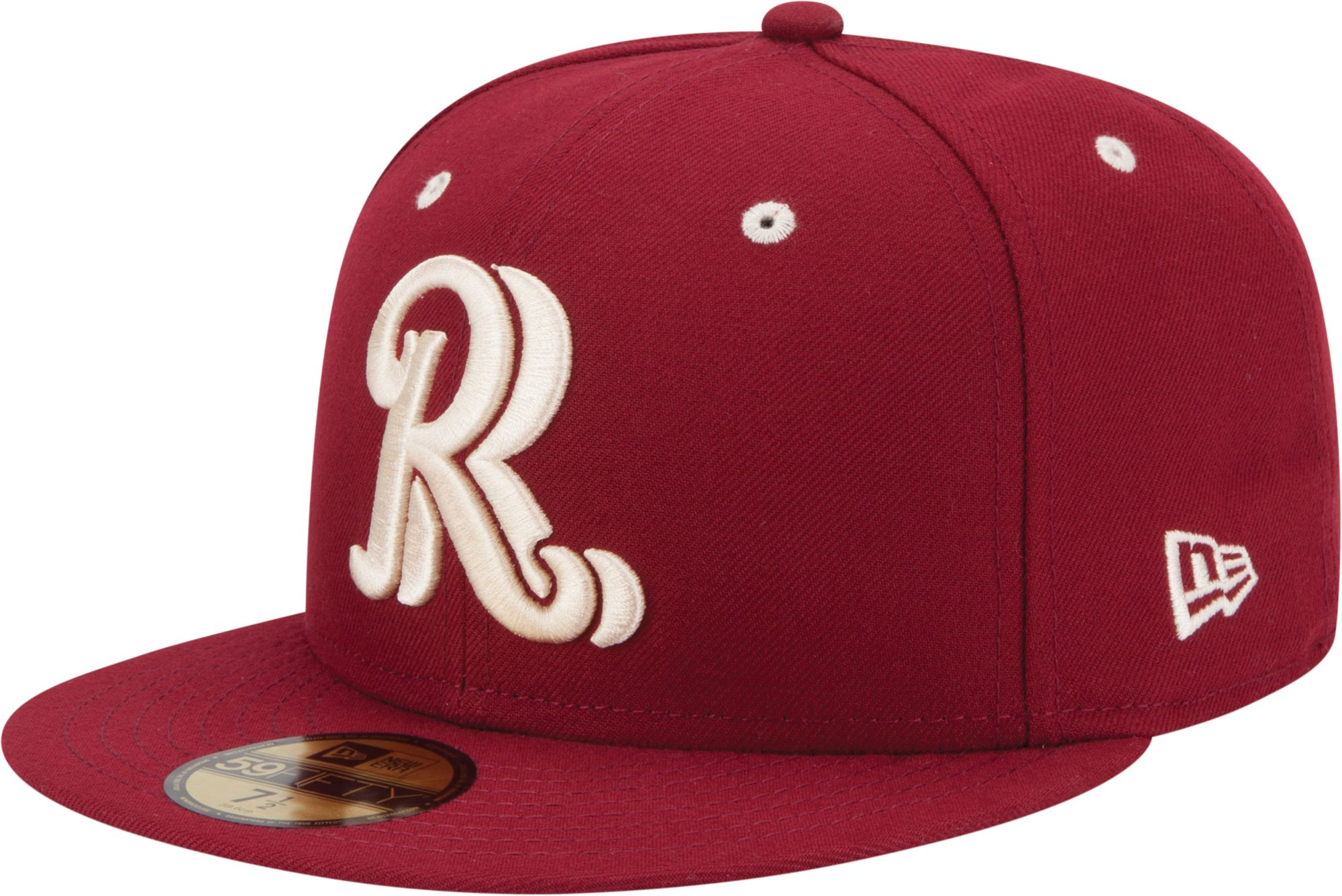 New Era Men's Frisco Rough Riders 59Fifty Red Authentic Hat, Size: 7 3/8, Multi