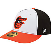 New Era Men's Baltimore Orioles 59Fifty Home White/Black Low Crown Authentic Hat