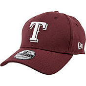 New Era Men's Texas Rangers 39Thirty City Pride Maroon Stretch Fit Hat