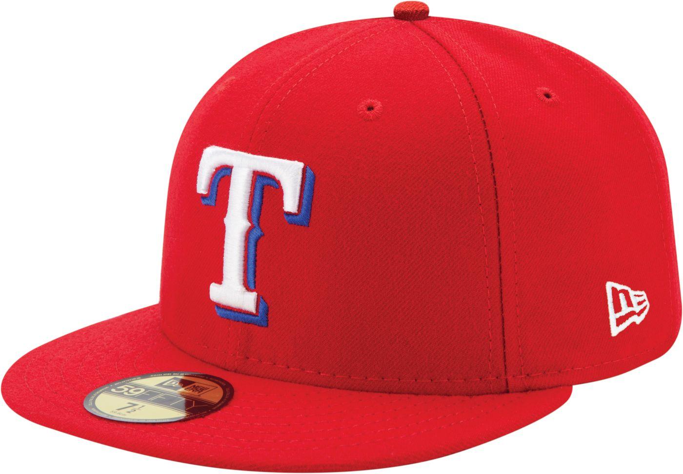 New Era Men's Texas Rangers 59Fifty Alternate Red Authentic Hat
