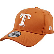 New Era Men's Texas Rangers 39Thirty City Pride Burnt Orange Stretch Fit Hat