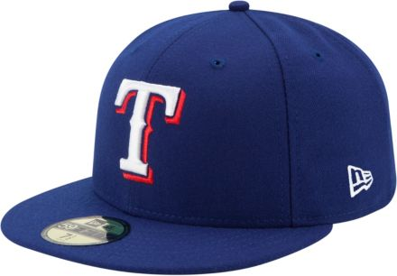 50798a8b964 New Era Men  39 s Texas Rangers 59Fifty Game Royal Authentic Hat